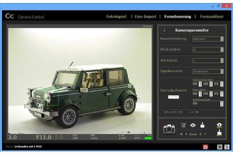 Bild Als Besonderheit bietet Camera Control eine Intervallfunktion. [Foto: MediaNord]