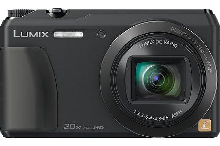"""Bild Der 1/2,3"""" kleine Hochempfindlichkeits-MOS-Sensor der Panasonic Lumix DMC-TZ56 löst 16 Megapixel auf und soll zusammen mit dem Objektiv für eine hohe Bildqualität sorgen. [Foto: Panasonic]"""
