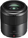 Mit dem Lumix G Macro 30 mm 2,8 Asph. O.I.S. hat Panasonic für nur knapp 350 Euro ein ausgesprochen preiswertes Makroobjektiv im Angebot. [Foto: Panasonic]