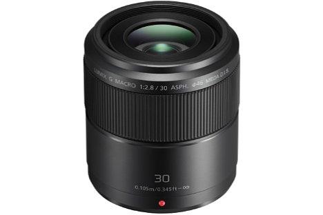 Bild Mit dem Lumix G Macro 30 mm 2,8 Asph. O.I.S. hat Panasonic für nur knapp 350 Euro ein ausgesprochen preiswertes Makroobjektiv im Angebot. [Foto: Panasonic]