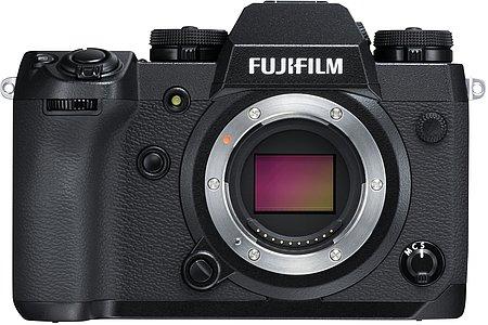 Bild Für die Fujifilm X-H1 gibt es dagegen nur ein paar Fehlerbereinigungen. [Foto: Fujifilm]