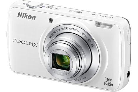 Bild Nikon Coolpix S810c in Weiß. [Foto: Nikon]