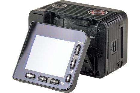Bild Der Monitor der Sony DSC-RX0 II wird mitsamt seinen Tasten bewegt. Das macht Sinn. [Foto: MediaNord]