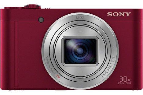 Bild Der Sony Cyber-shot DSC-WX500 fehlt neben dem elektronischen Sucher auch der Objektivring der HX90 und HX90V. [Foto: Sony]