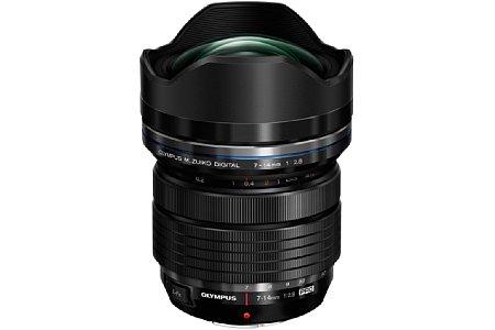 Olympus 7-14 mm 2.8 Pro (EZ-M0714). [Foto: Olympus]