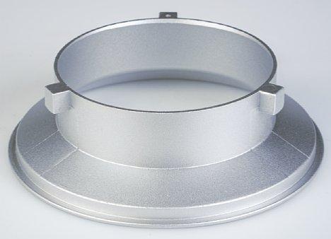 Bild Der Bajonettring hat je nach Hersteller ein unterschiedliches Aussehen. In diesem Fall ist es ein vollständiges Gussstück. [Foto: MediaNord]