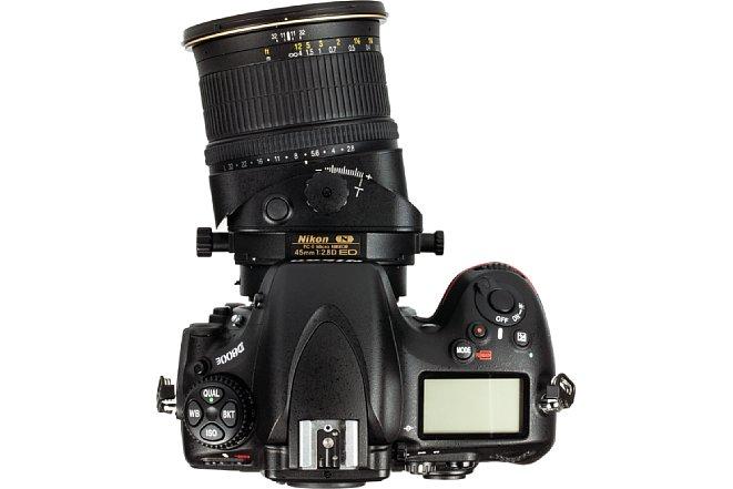 Bild Nikon 45 mm Tilt Shift Objektiv - Tilted links. [Foto: MediaNord]