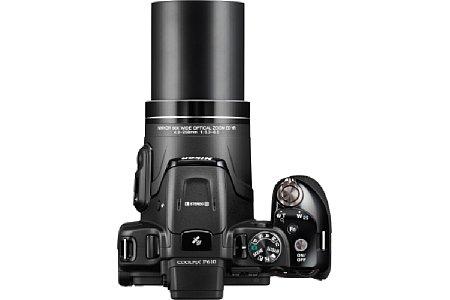 Bild Das 60fache optische Zoom der Nikon Coolpix P610 deckt eine sagenhafte Brennweite von 24 bis 1.440 Millimeter ab. [Foto: Nikon]