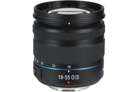 Samsung NX Lens 3.5-5.6 18-55 mm III OIS i-Function [Foto: MediaNord]