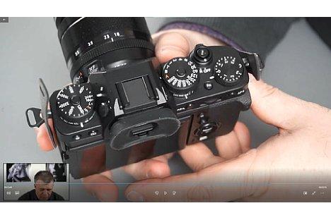Bild Screenshot aus dem Fujifilm-Fortgeschrittenen-Schulungsvideo, hier mit der Fujifilm X-T3. [Foto: MediaNord]