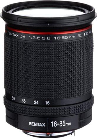 Bild Pentax HD DA 16-85 mm F3,5-5,6 ED DC WR. [Foto: Pentax]