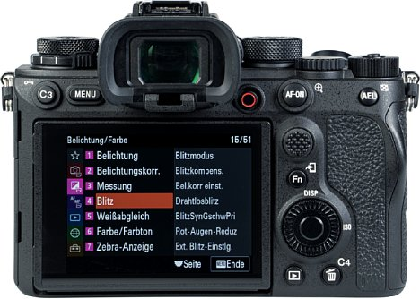Bild Die Sony Alpha 1 besitzt eine neue Menüstruktur, an die sich nicht nur Umsteiger von anderen Marken umgewöhnen müssen, sondern auch eingefleischte Sony-Fotografen. [Foto: MediaNord]