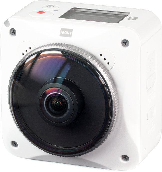 Bild Die Kodak PixPro 4KVR360 wird in anderen Teilen der Welt unter dem Namen Kodak Pixpro ORBIT360 4K verkauft. Sie ist Actioncam und Panorama-Kamera zugleich. [Foto: MediaNord]