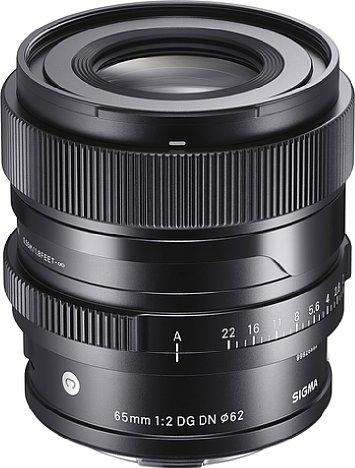 Bild Sigma 65 mm 2.0 DG DN Contemporary. [Foto: Sigma]