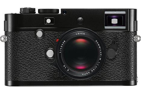 Bild Die Leica M-P wird in Schwarz (wie hier) sowie in Silber zum Preis von 6.700 Euro angeboten. [Foto: Leica]