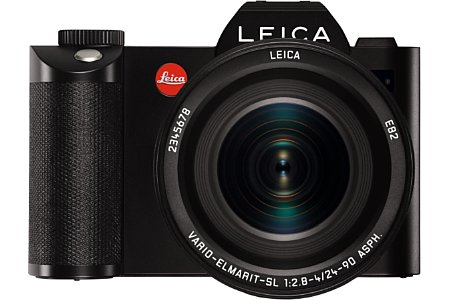 Bild Mit der SL begründet Leica ein neues spiegelloses Kamerasystem. Die SL besitzt einen besonders großen, mit 4,4 Millionen Bildpunkten äußerst fein auflösenden Sucher. [Foto: Leica]