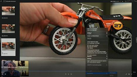 """Bild Manuel Quarta im Schulungs-Videos """"Nikon Z-System Spezial"""", Kapitel """"Spezielle Features - Sprachnotiz"""". [Foto: MediaNord]"""