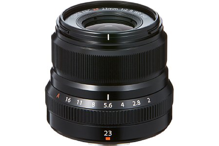 Fujifilm XF 23 mm F2 R WR. [Foto: Fujifilm]