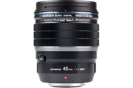 Bild Das Olympus 45 mm 1.2 ED Pro ist wie alle Objektive der Serie spritzwassergeschützt. Zudem sind die Filtergewinde mit 62 mm identisch groß. [Foto: MediaNord]