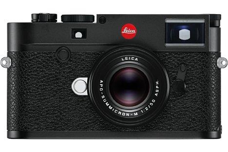 Bild Leica M10 in Schwarz. [Foto: Leica]