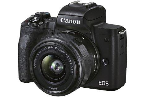 Bild Die EOS M50 Mark II wird mit dem EF-M 15-45 mm als Set zu haben sein. [Foto: Canon]