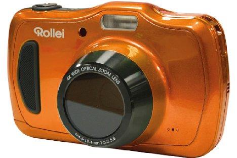 Bild Videos nimmt die 20 Megapixel auflösende Rollei Sportsline 100 in kleiner HD-Auflösung (1.280 x 720) mit maximal 29 Minuten Länge auf. [Foto: Rollei]