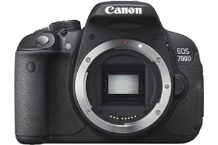 Bild Der APS-C große CMOS-Sensor der Canon EOS 700D löst 18 Megapixel auf. [Foto: Canon]