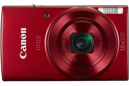 Bild Neben Schwarz wird die Canon Ixus 180 auch in Rot sowie... [Foto: Canon]