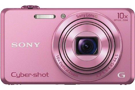 Bild Die Sony Cyber-shot DSC-WX220 soll ab März 2014 für knapp 230 EUR in Schwarz, Gold und Pink erhältlich sein. [Foto: Sony]