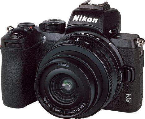 Bild Zusammen mit demZ 16-50 mm 3,5-6,3 VR DX ergibt die Nikon Z 50 ein sehr kompaktes Gesamtpaket. Das Objektiv liefert eine überraschend gute Bildqualität, die Kamera ebenfalls. [Foto: MediaNord]
