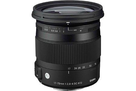Bild Sigma C 17-70 mm F2.8-4 DC Makro OS HSM [Foto: Sigma]