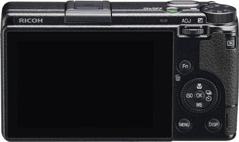 Bild Auf der Rückseite besitzt die Ricoh GR IIIx einen 7,5 Zentimeter großen Touchscreen. Er ist mit einer kratzfesten Anti-reflex-Beschichtung versehen. [Foto: Ricoh]