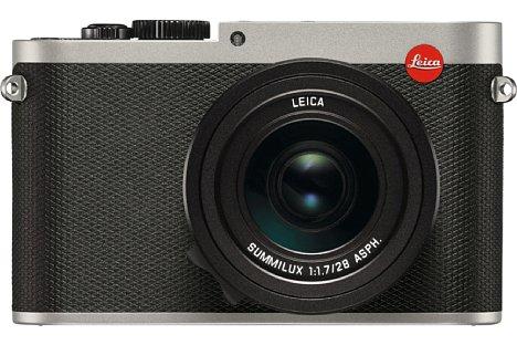 Bild Bei der Leica Q (Typ 116) titan handelt es sich um eine Vollformat-Kompaktkamera mit 24 Megapixeln Auflösung. [Foto: Leica]