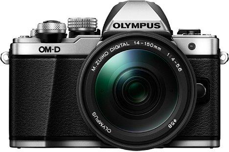 Bild Für 1.000 Euro gibt es die Olympus OM-D E-M10 Mark II im Set mit dem 14-150 mm 4-5.6 ED Superzoomobjektiv. [Foto: Olympus]