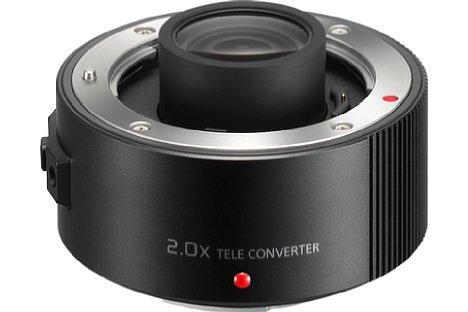 Bild Der 2-fach-Telekonverter Panasonic DMW-TC20E ist separat erhältlich und kostet stolze 649 Euro. [Foto: Panasonic]