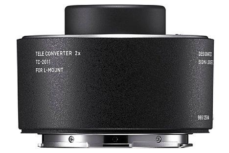 Bild Der 2-fach Telekonverter TC-2011 ist wie der TC-1411 nur mit L-Mount Objektivanschluss erhältlich. [Foto: Sigma]
