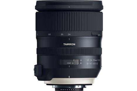 Bild Auch wenn es Unterschiede im Design gibt, ist die Ähnlichkeit zum Tamron SP 24-70 mm f2.8 Di VC USD G2 (A032) doch unverkennbar. [Foto: Tamron]