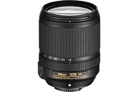 AF-S 18-140 mm 1:3.5-5.6G ED VR DX [Foto: Nikon]