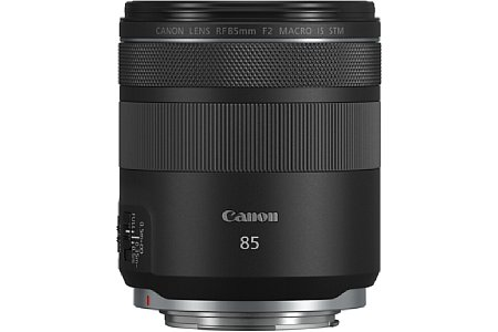 Canon RF 85 mm F2 Macro IS STM. [Foto: Canon]