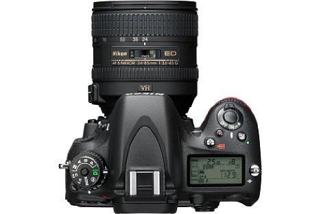 Bild Neuerung der Nikon D610 gegenüber dem Vorgängermodell D600: Die Serienbildgeschwindigkeit wurde leicht von 5,5 auf 6 Bilder pro Sekunde erhöht. [Foto: Nikon]