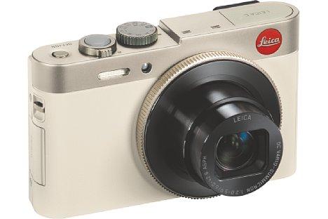 Bild Das optische Siebenfachzoom der Leica C (Typ 112) zoomt von 28-200 mm (KB) und ist mit einem optischen Bildstabilisator ausgestattet. [Foto: Leica]