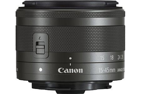 Canon EF-M 15-45 mm 3.5-6.3 IS STM. [Foto: Canon]