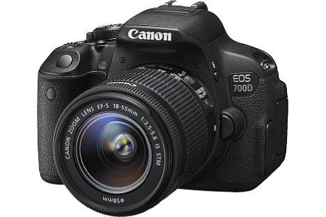 Bild Die Canon EOS 700D besitzt ein höherwertiges Gehäuse als noch die 650D, die nicht mehr produziert wird. [Foto: Canon]