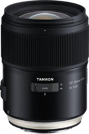 Bild Die Canon-EF-Anschlussvariante des Tamron SP 35 mm F1.4 Di USD (F045) soll erst ab dem 25. Juli 2019 erhältlich sein. [Foto: Tamron]