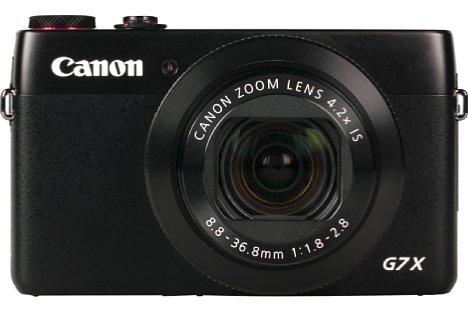 Bild Das Gehäuse der Canon PowerShot G7 X bietet mangels ausgeprägtem Handgriff auf der Vorderseite wenig Halt. [Foto: MediaNord]