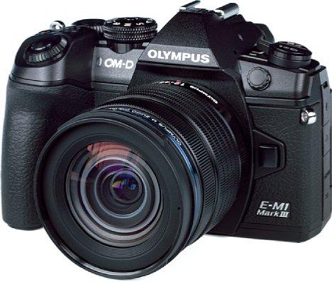 Bild Olympus OM-D E-M1 Mark III mit 12-45 mm Pro. [Foto: MediaNord]