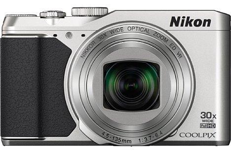 Bild Ab Ende Februar 2015 soll die Nikon Coolpix S9900 in den Farben Silber und Schwarz zu einem Preis von knapp 350 Euro erhältlich sein. [Foto: Nikon]