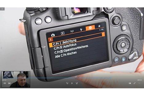 Bild Ernst Ulrich Soja im Fortgeschrittenen-Kurs mit der Canon EOS 90D. [Foto: Imaging One]
