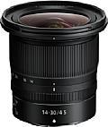 Trotz des großen Bildwinkels von 114 bis 72 Grad diagonal an Vollformat fällt Nikon Z 14-30 mm 1:4 S erstaunlich kompakt aus. Möglich macht dies das geringe Auflagemaß des spiegellosen Kamerasystems. [Foto: Nikon]