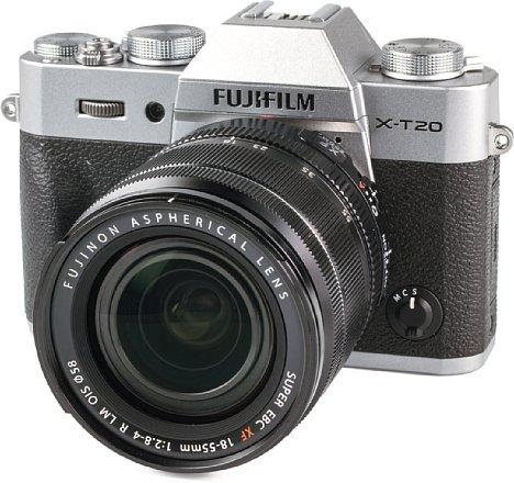 Bild Fujifilm X-T20 mit 18-55 mm. [Foto: MediaNord]